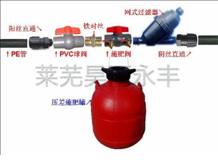 施肥罐安装使用示意图