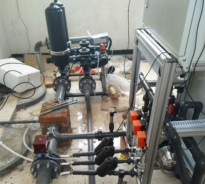 智能水肥一体化安装